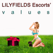 Values of Lilyfields Escorts